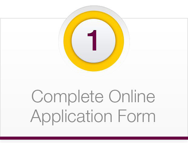Complete Online Application Form